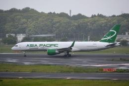 あまるめさんが、成田国際空港で撮影したアジア・パシフィック・エアラインズ 757-230(PCF)の航空フォト(飛行機 写真・画像)