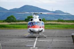 F.YUKIHIDEさんが、岡南飛行場で撮影した国土交通省 地方整備局 412EPの航空フォト(飛行機 写真・画像)