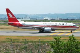 jun☆さんが、富山空港で撮影した上海航空 737-8Q8の航空フォト(飛行機 写真・画像)