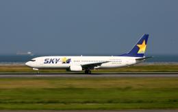 asuto_fさんが、大分空港で撮影したスカイマーク 737-86Nの航空フォト(飛行機 写真・画像)