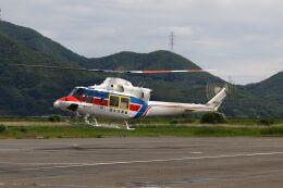 しょうせいさんが、岡南飛行場で撮影した国土交通省 地方整備局 412EPの航空フォト(飛行機 写真・画像)