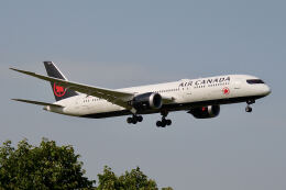 やまモンさんが、成田国際空港で撮影したエア・カナダ 787-9の航空フォト(飛行機 写真・画像)