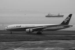 Hiro-hiroさんが、羽田空港で撮影した全日空 777-281の航空フォト(飛行機 写真・画像)