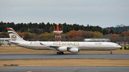 flytaka78さんが、成田国際空港で撮影したエティハド航空 A340-642Xの航空フォト(飛行機 写真・画像)