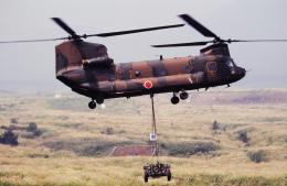 チャーリーマイクさんが、東富士演習場で撮影した陸上自衛隊 CH-47Jの航空フォト(飛行機 写真・画像)