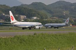 tsubameさんが、福岡空港で撮影した中国国際航空 737-3J6の航空フォト(飛行機 写真・画像)