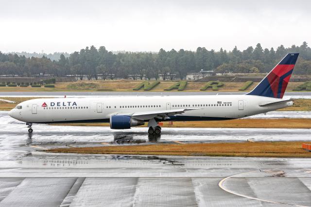 Cozy Gotoさんが、成田国際空港で撮影したデルタ航空 767-432/ERの航空フォト(飛行機 写真・画像)