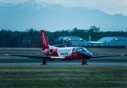 Cygnus00さんが、新千歳空港で撮影したDELAWARE TRUST CO TRUSTEE 560 Citation V/Ultra/Encoreの航空フォト(飛行機 写真・画像)