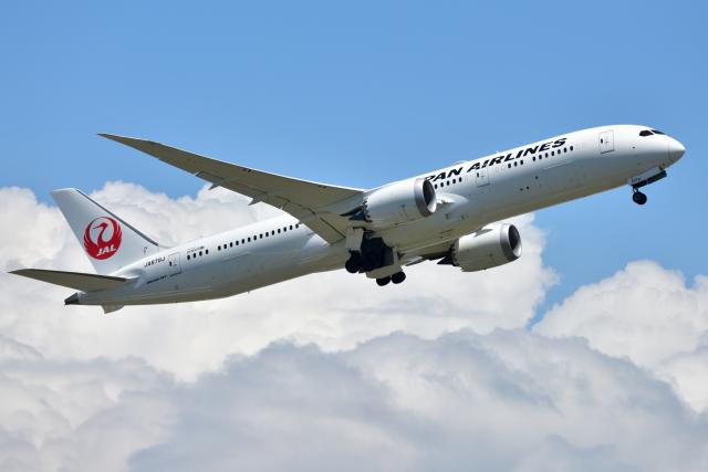 saoya_saodakeさんが、成田国際空港で撮影した日本航空 787-9の航空フォト(飛行機 写真・画像)