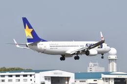 ワイエスさんが、鹿児島空港で撮影したスカイマーク 737-8FHの航空フォト(飛行機 写真・画像)