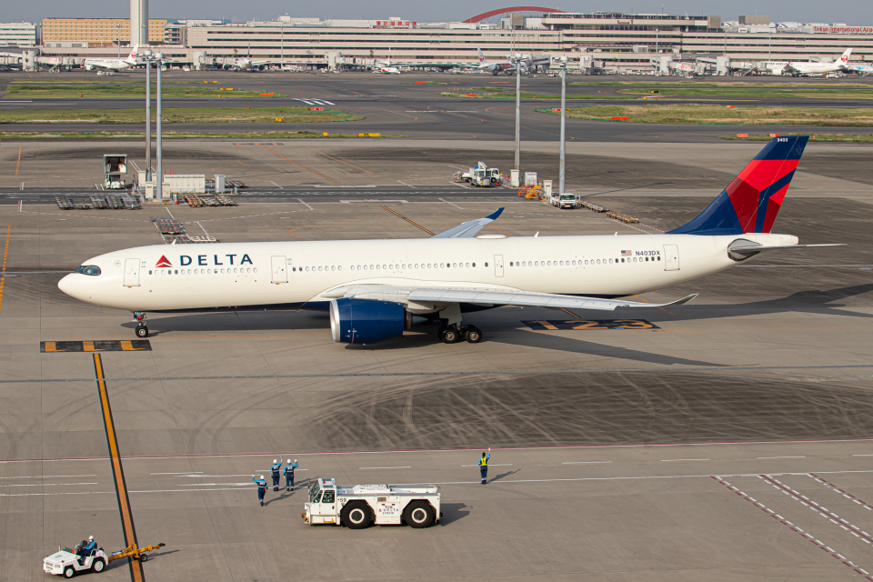 SGR RT 改さんのデルタ航空 Airbus A330-900 (N403DX) 航空フォト