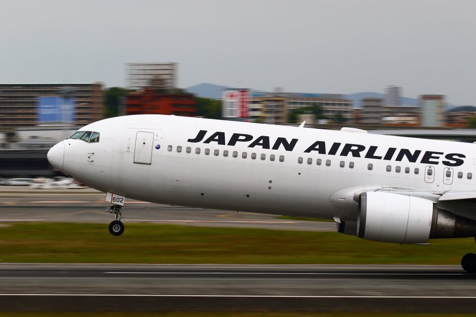 khideさんの日本航空 Boeing 767-300 (JA602J) 航空フォト