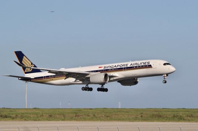 mahiちゃんさんが、羽田空港で撮影したシンガポール航空 A350-941の航空フォト(飛行機 写真・画像)