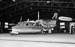 Y.Todaさんが、羽田空港で撮影した毎日新聞社 MU-2Bの航空フォト(飛行機 写真・画像)