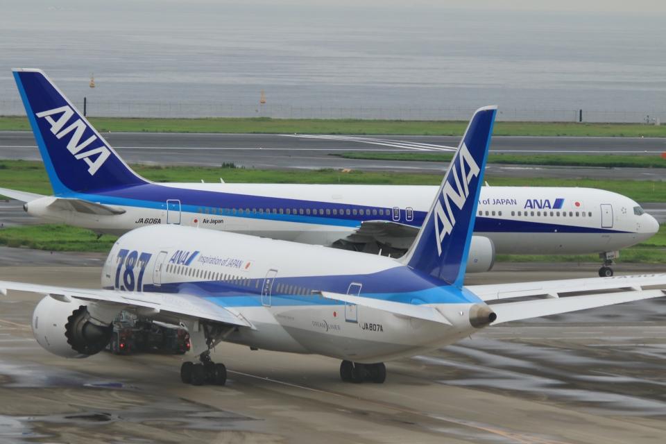 Hiro-hiroさんの全日空 Boeing 767-300 (JA606A) 航空フォト