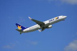 tsubameさんが、福岡空港で撮影したスカイマーク 737-8HXの航空フォト(飛行機 写真・画像)