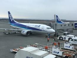 東亜国内航空さんが、新千歳空港で撮影したANAウイングス 737-54Kの航空フォト(飛行機 写真・画像)