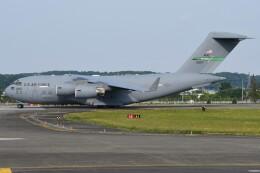 デルタおA330さんが、横田基地で撮影したアメリカ空軍 C-17A Globemaster IIIの航空フォト(飛行機 写真・画像)