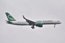 LEGACY-747さんが、成田国際空港で撮影したアジア・パシフィック・エアラインズ 757-230(PCF)の航空フォト(飛行機 写真・画像)