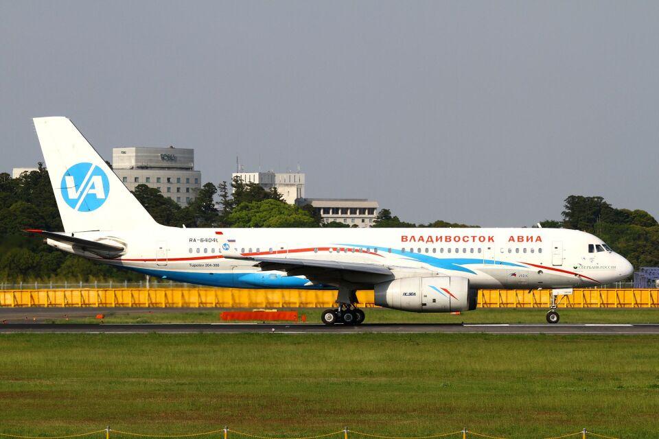 hiroki_h2さんのウラジオストク航空 Tupolev Tu-204/214/234 (RA-64040) 航空フォト