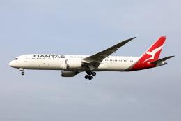 HADAさんが、成田国際空港で撮影したカンタス航空 787-9の航空フォト(飛行機 写真・画像)