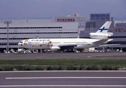 ansett747さんが、福岡空港で撮影したフィンエアー DC-10-30の航空フォト(飛行機 写真・画像)