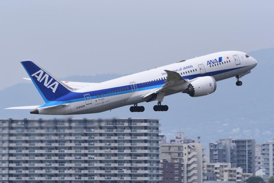 TOPAZ102さんの全日空 Boeing 787-8 Dreamliner (JA840A) 航空フォト
