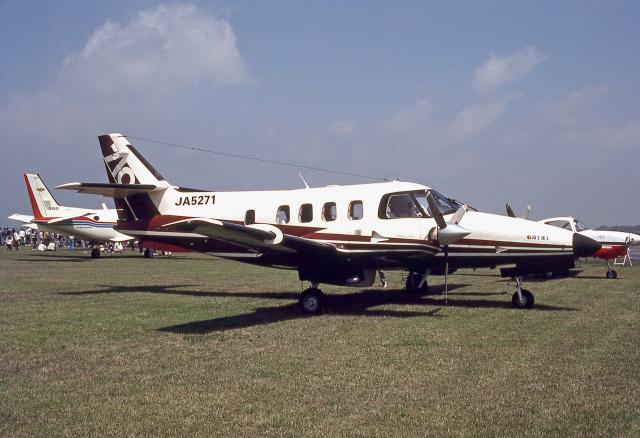 JAパイロットさんが、宇都宮飛行場で撮影した富士重工業 FA-300 (Commander 710)の航空フォト(飛行機 写真・画像)