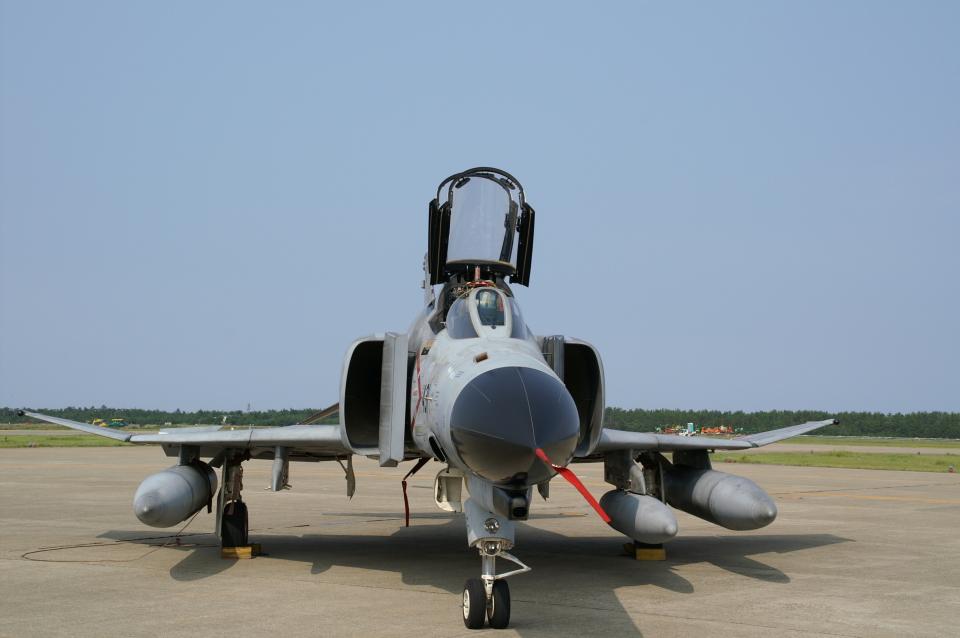 れぐぽよさんの航空自衛隊 Mitsubishi F-4EJ Kai Phantom II (07-8431) 航空フォト