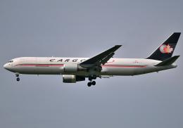 雲霧さんが、成田国際空港で撮影したカーゴジェット・エアウェイズ 767-35E/ER(BCF)の航空フォト(飛行機 写真・画像)