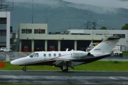 Zakiyamaさんが、熊本空港で撮影した日本個人所有 525 Citation CJ1の航空フォト(飛行機 写真・画像)