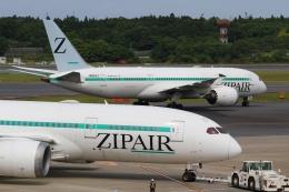 宮崎 育男さんが、成田国際空港で撮影したZIPAIR 787-8 Dreamlinerの航空フォト(飛行機 写真・画像)