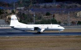LEVEL789さんが、岡山空港で撮影した国土交通省 航空局 YS-11-110の航空フォト(飛行機 写真・画像)