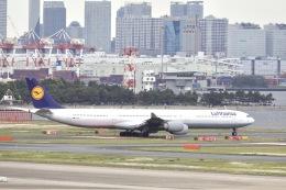 mahiちゃんさんが、羽田空港で撮影したルフトハンザドイツ航空 A340-642Xの航空フォト(飛行機 写真・画像)