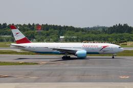 やまモンさんが、成田国際空港で撮影したオーストリア航空 777-2Q8/ERの航空フォト(飛行機 写真・画像)