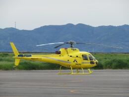 F.YUKIHIDEさんが、岡南飛行場で撮影した匠航空 AS350B Ecureuilの航空フォト(飛行機 写真・画像)
