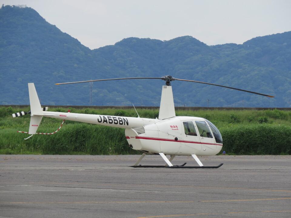 F.YUKIHIDEさんの日本法人所有 Robinson R44 (JA558N) 航空フォト