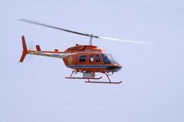 apphgさんが、静岡ヘリポートで撮影した新日本ヘリコプター 206L-3 LongRanger IIIの航空フォト(飛行機 写真・画像)