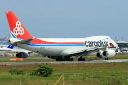 おっしーさんが、成田国際空港で撮影したカーゴルクス・イタリア 747-4R7F/SCDの航空フォト(飛行機 写真・画像)