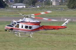 やまけんさんが、花巻空港で撮影した青森県防災航空隊 412EPIの航空フォト(飛行機 写真・画像)