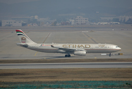 tsubameさんが、仁川国際空港で撮影したエティハド航空 A330-343Xの航空フォト(飛行機 写真・画像)