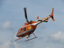 ランチパッドさんが、静岡ヘリポートで撮影した新日本ヘリコプター 206L-3 LongRanger IIIの航空フォト(飛行機 写真・画像)