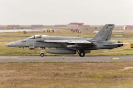 Flankerさんが、岩国空港で撮影したアメリカ海軍 F/A-18E Super Hornetの航空フォト(飛行機 写真・画像)