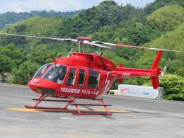 ランチパッドさんが、静岡ヘリポートで撮影したジャネット 407の航空フォト(飛行機 写真・画像)