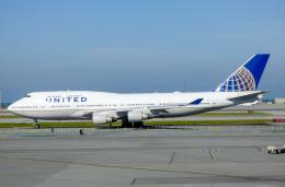 M.Chihara_1さんが、サンフランシスコ国際空港で撮影したユナイテッド航空 747-451の航空フォト(飛行機 写真・画像)