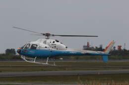 プルシアンブルーさんが、仙台空港で撮影した東邦航空 AS355F2 Ecureuil 2の航空フォト(飛行機 写真・画像)