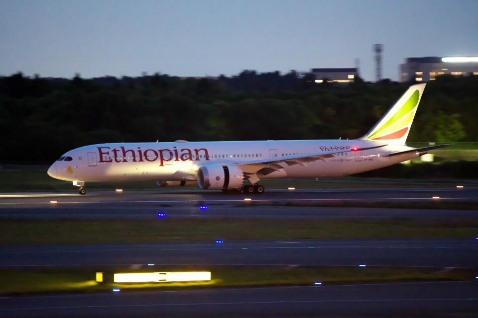 @たかひろさんのエチオピア航空 Boeing 787-9 (ET-AYC) 航空フォト