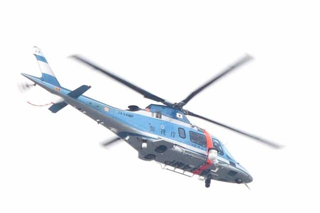 Re4/4さんが、東京ヘリポートで撮影した警視庁 A109E Powerの航空フォト(飛行機 写真・画像)