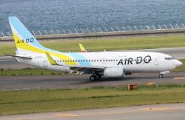 M.Chihara_1さんが、中部国際空港で撮影したAIR DO 737-781の航空フォト(飛行機 写真・画像)