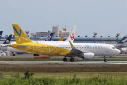 プルシアンブルーさんが、成田国際空港で撮影したバニラエア A320-214の航空フォト(飛行機 写真・画像)